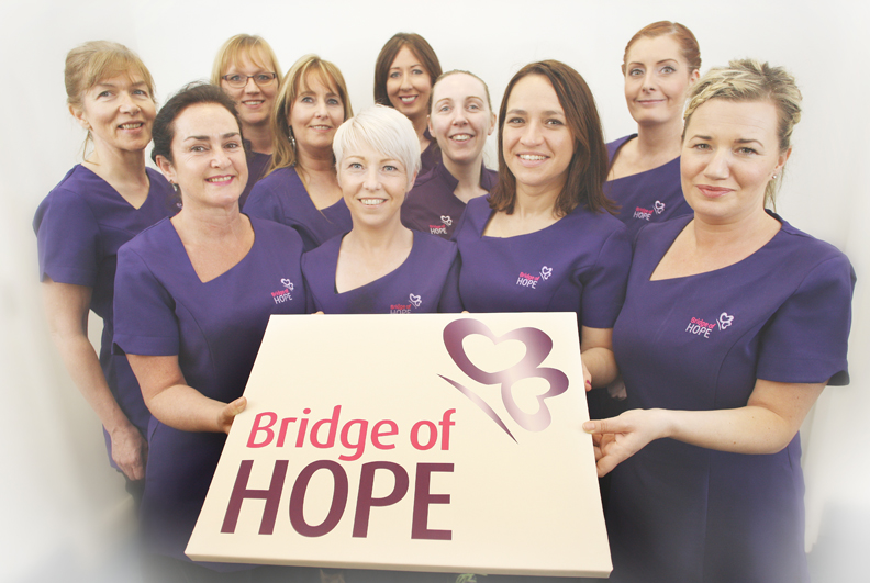 Bridge of Hope, a department of Ashton Community Trust. Complementary Therapy