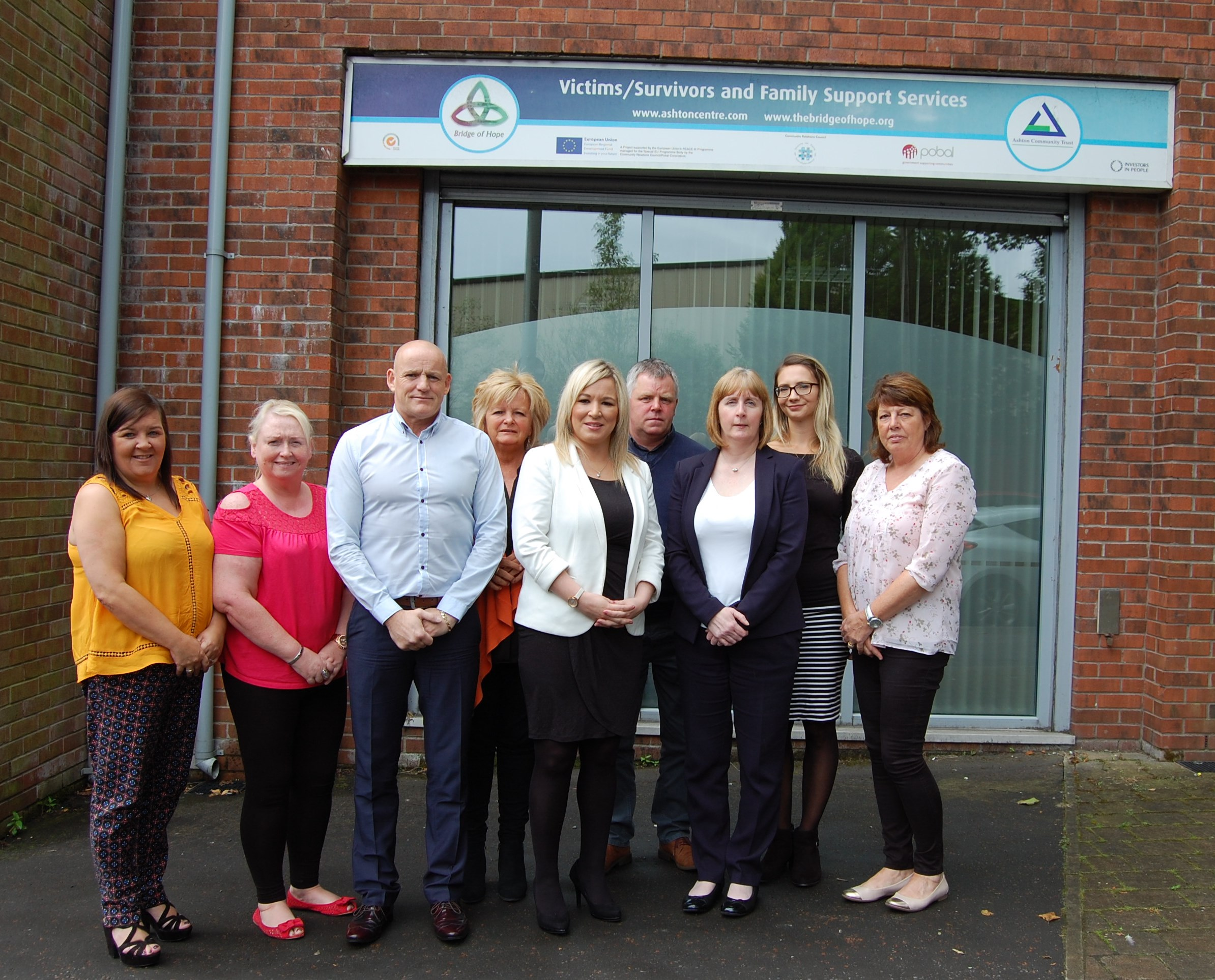 Health Minister meets Belfast community groups to discuss suicide prevention